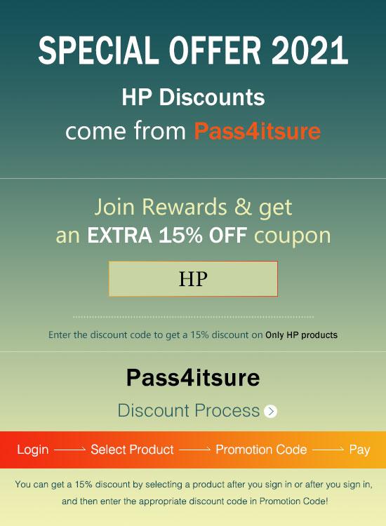 Pass4itSure Huawei exam dumps Latest discount code